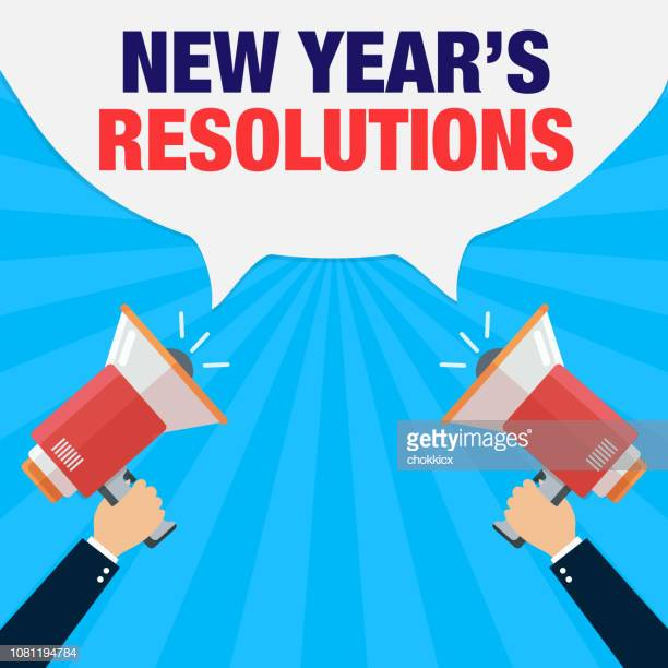 49 New Year Resolution Stock Illustrations, Clip art.