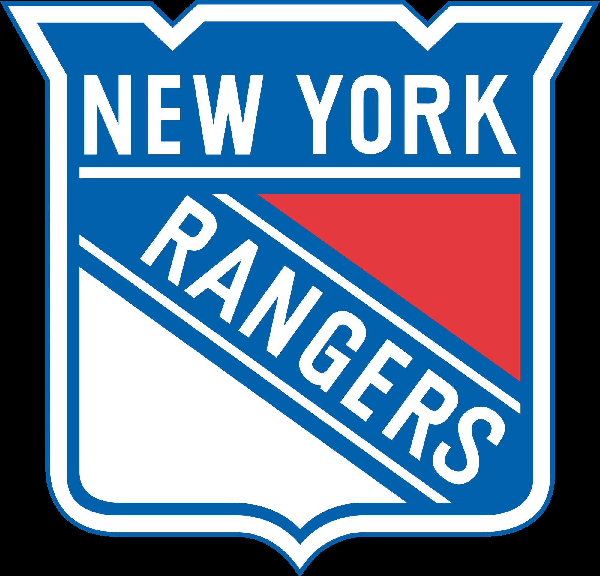New York Rangers Logo Clipart.