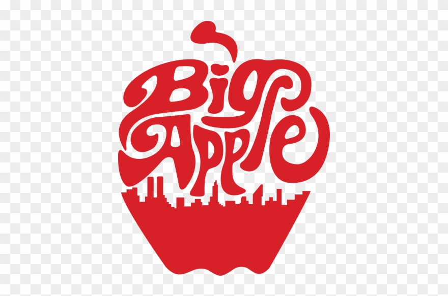 New York Big Apple Png Clipart (#764633).