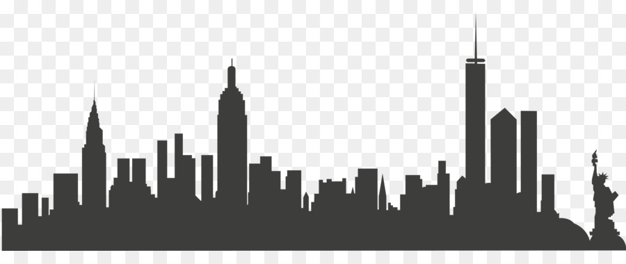 New York City Clipart Skyline Kisspng.