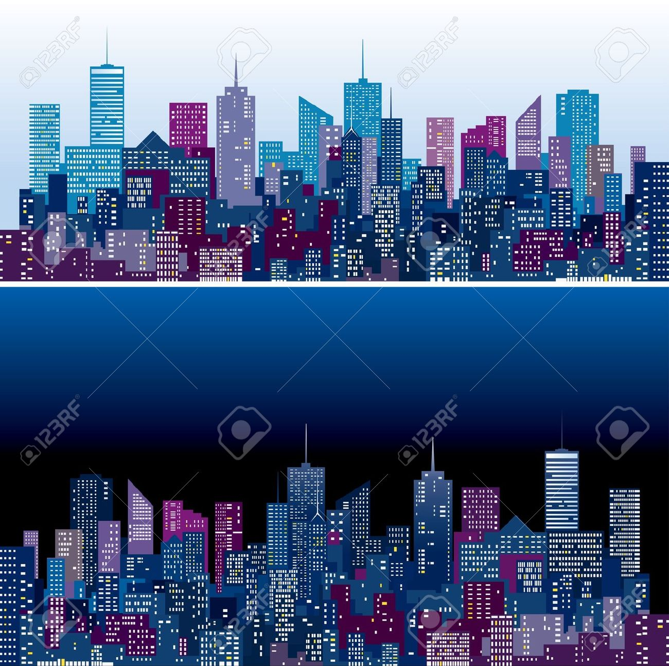 New York Skyline Silhouette Images & Stock Pictures. Royalty Free.