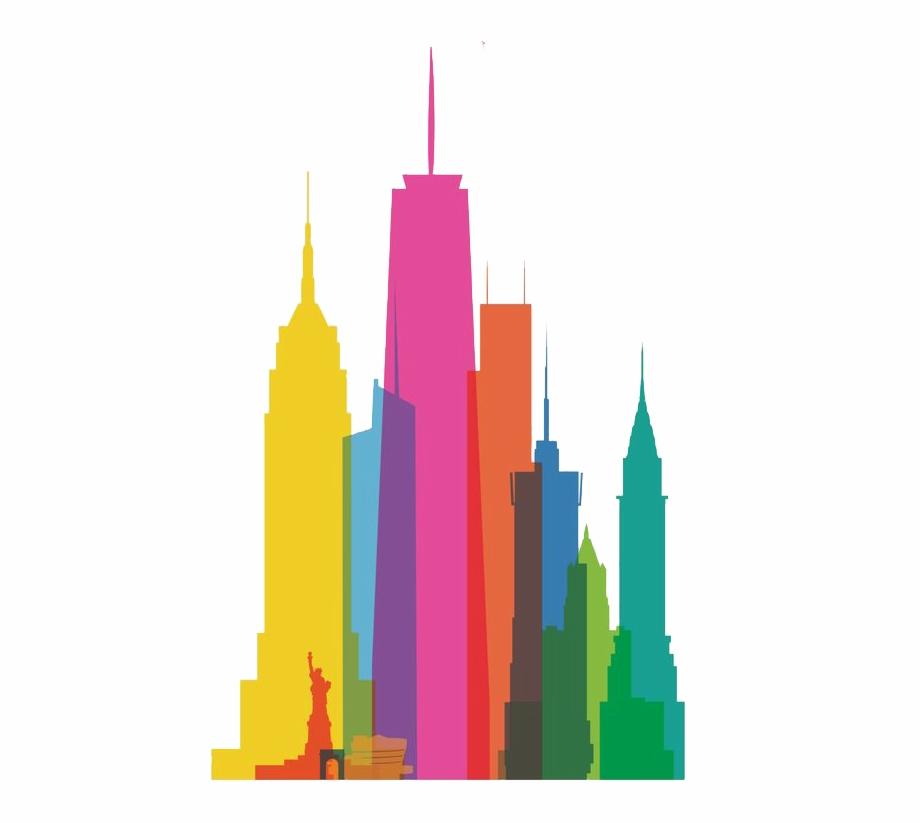 Clip Art Free Download New York City Skyline Clipart.