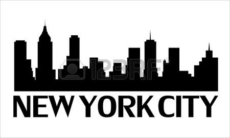 Nyc skyline clip art.