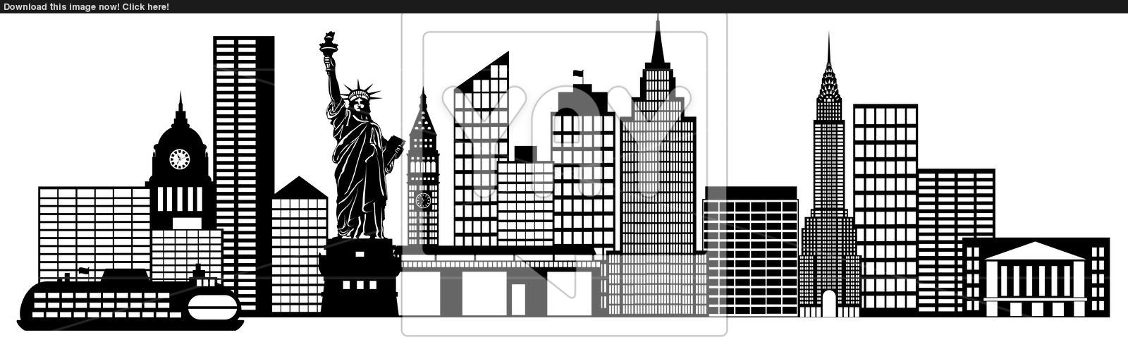 Clip Art New York City.