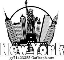 New York City Clip Art.