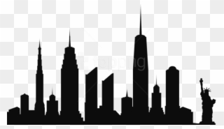 Free PNG New York City Skyline Clip Art Download.
