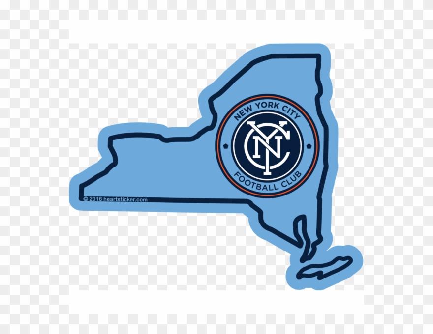 Mls New York City Fc Sticker,all.