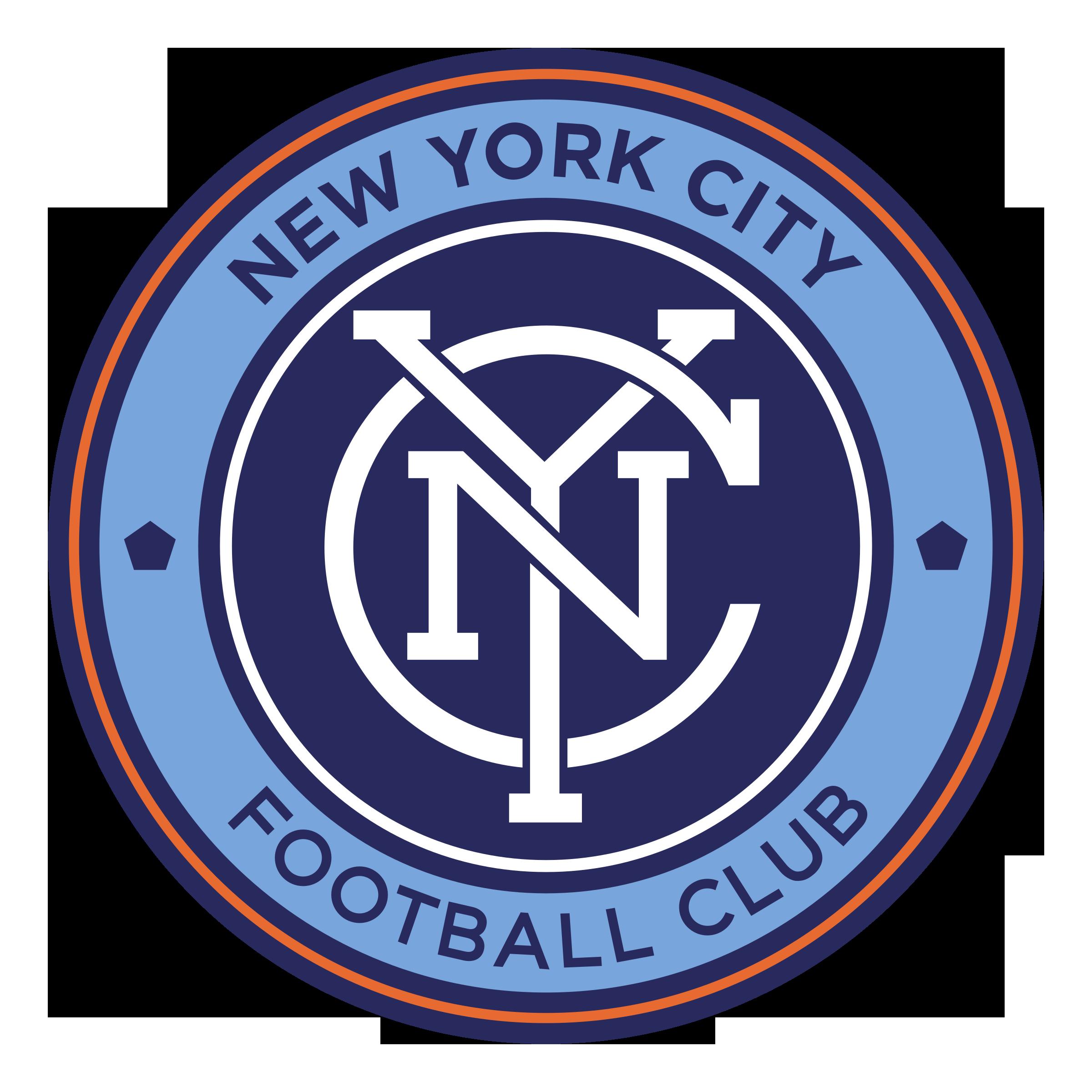 New York City FC Logo PNG Transparent & SVG Vector.