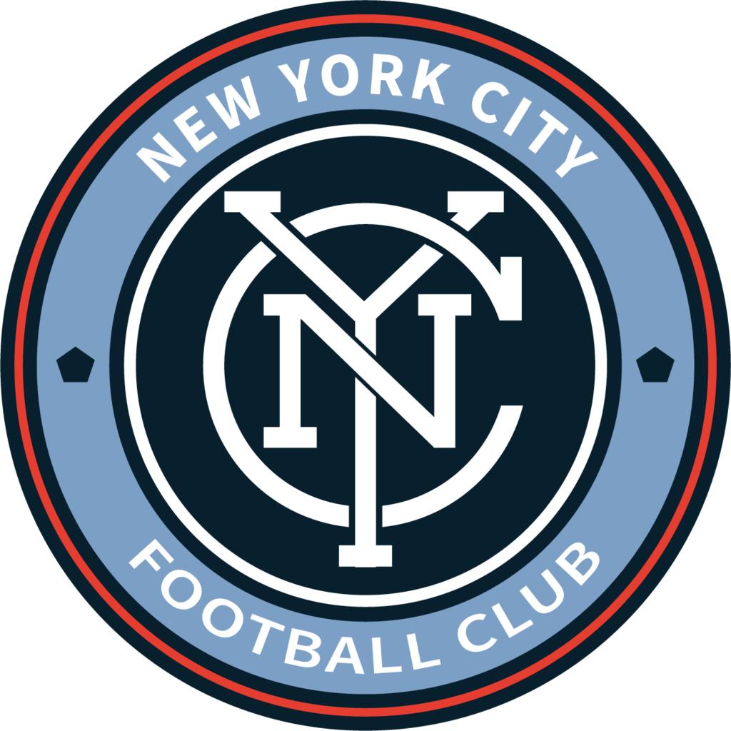New York City Football Club logo, Vector Logo of New York.