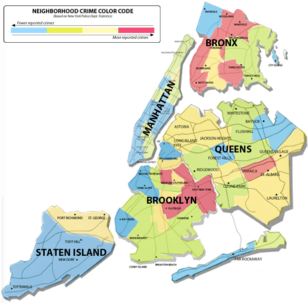 New York Map Hd Images.