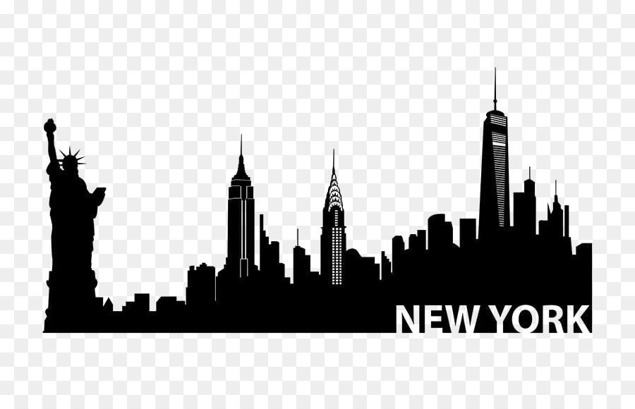 New York City png download.