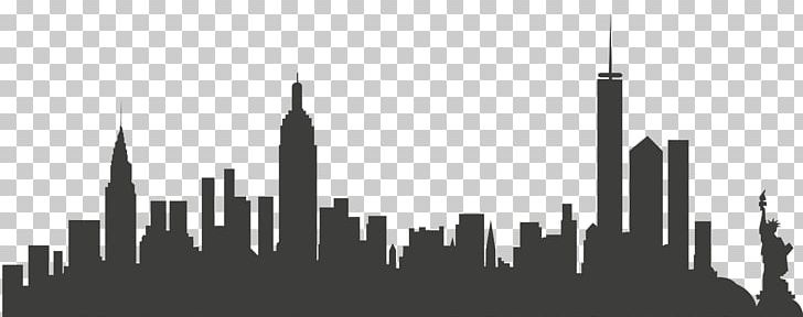 New York City Skyline PNG, Clipart, Animals, Art, Black And.