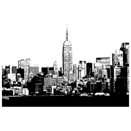 Free NEW YORK CITY SKYLINE VECTOR.epss Clipart and Vector.