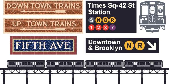 Train Station Clip Art, Vector Images & Illustrations.