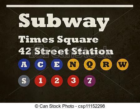Ny Subway Clip Art.