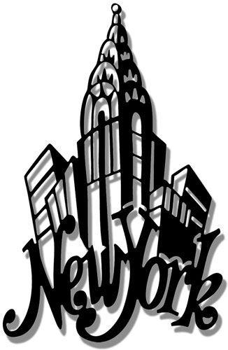 new york city silhouette clip.