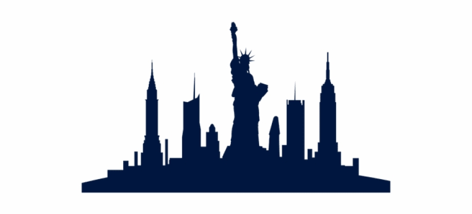 Free New York Silhouette Png, Download Free Clip Art, Free.