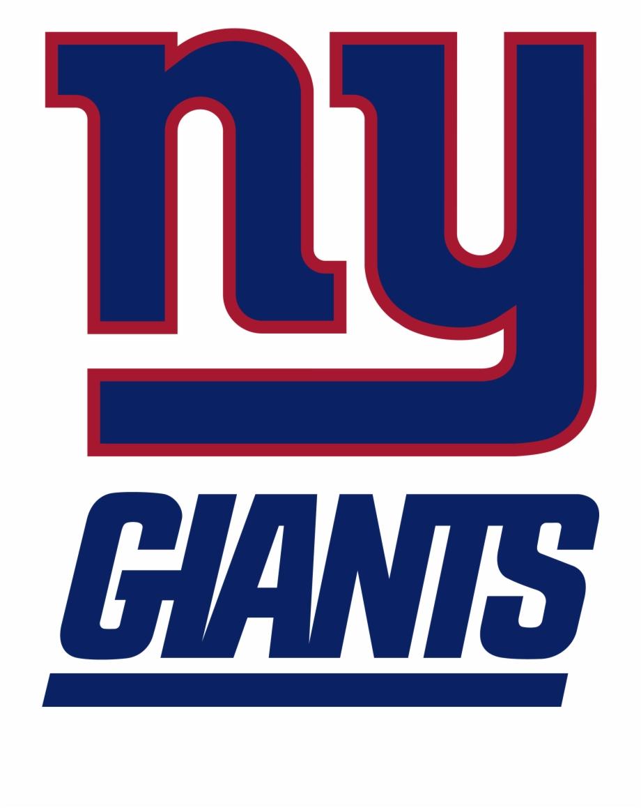 New York Giants Football Logo.