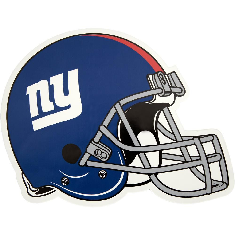 Applied Icon NFL New York Giants Outdoor Helmet Graphic.