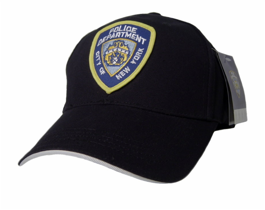 Nypd Hat Cap Blue Dvd Season Police Badge.