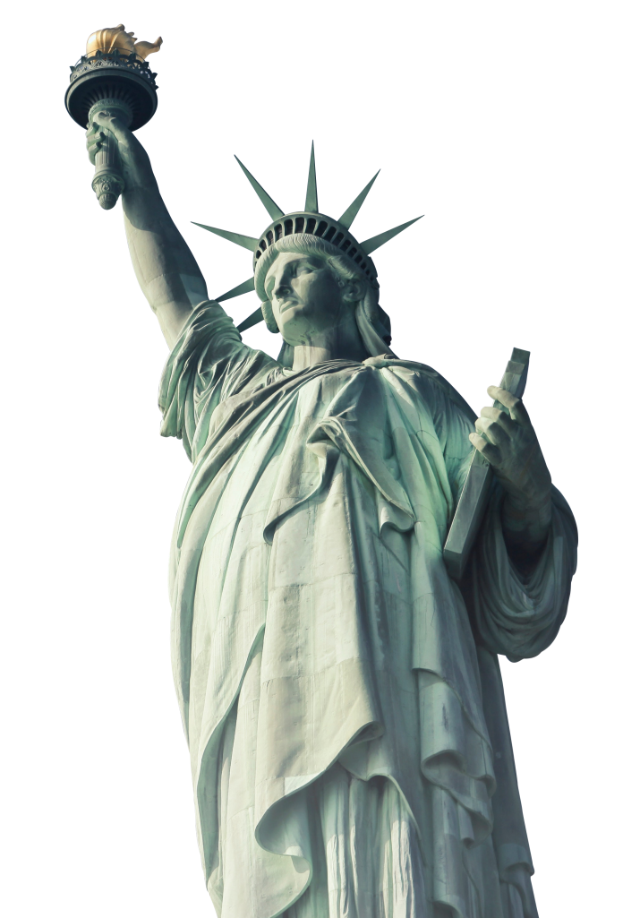 New York Statue of Liberty PNG Photos.