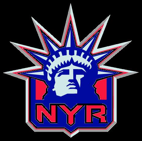 New York Rangers Silhouette.