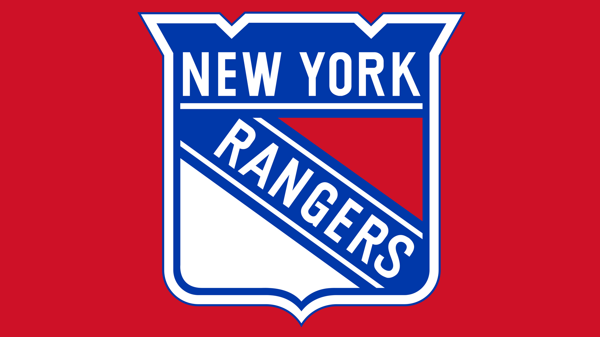 Meaning New York Rangers logo and symbol.