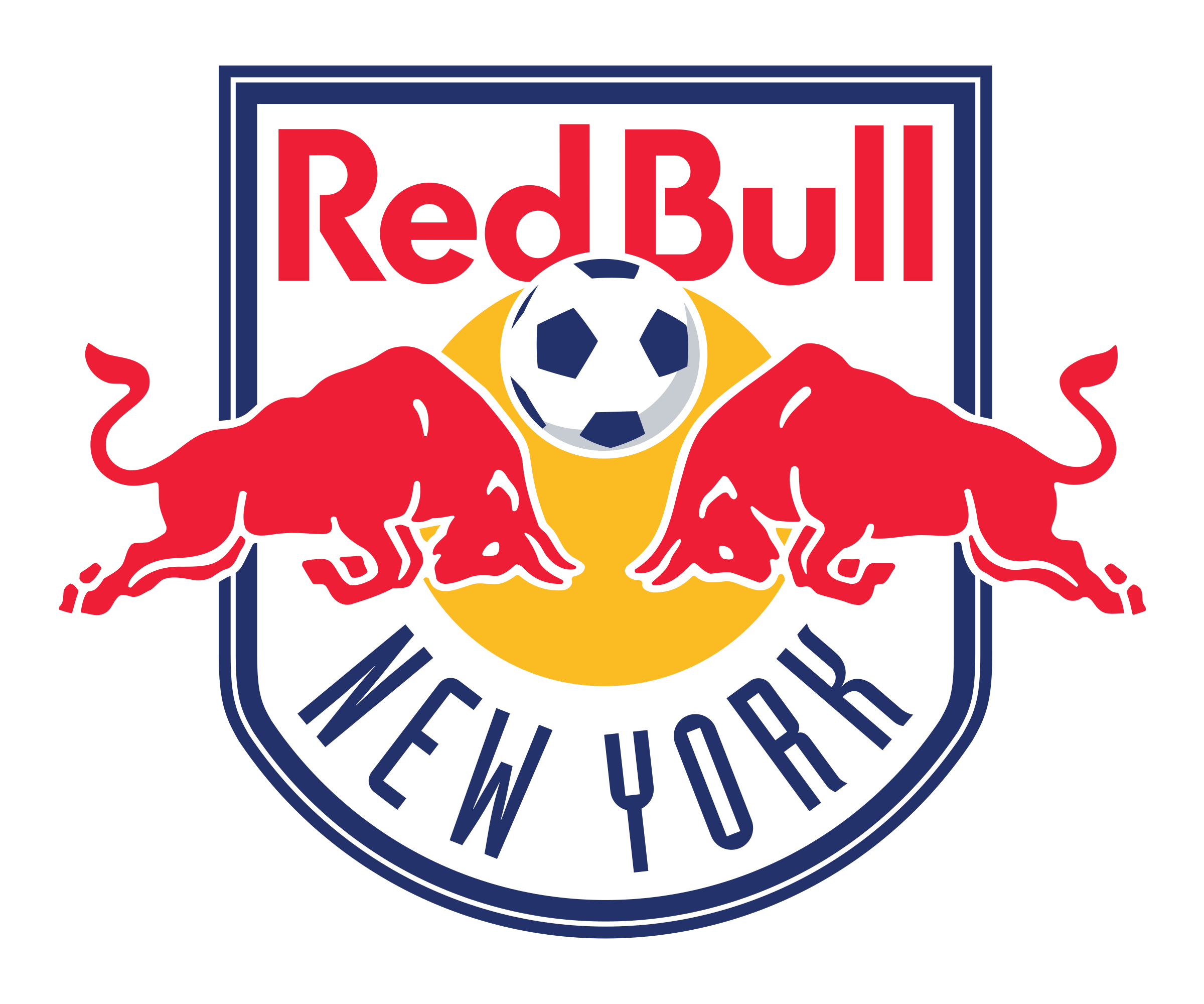 New York Red Bulls Logo PNG Transparent & SVG Vector.
