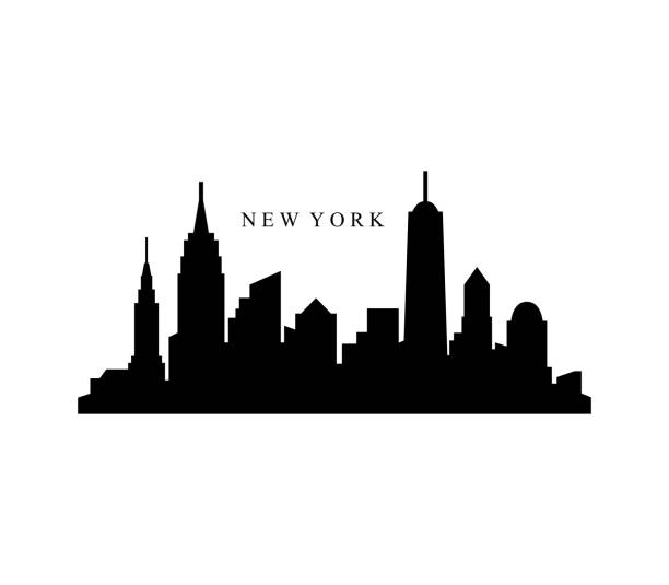 Best New York Skyline Illustrations, Royalty.