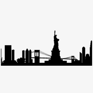 New York Skyline Clipart At Getdrawings #43956.