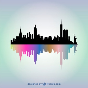 New York Skyline Vectors, Photos and PSD files.