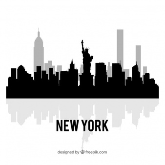 New York Skyline Vectors, Photos and PSD files.