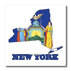Nys Map Outline.