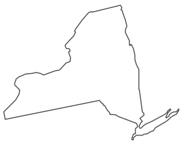 Clipart Drawing Of New York State.