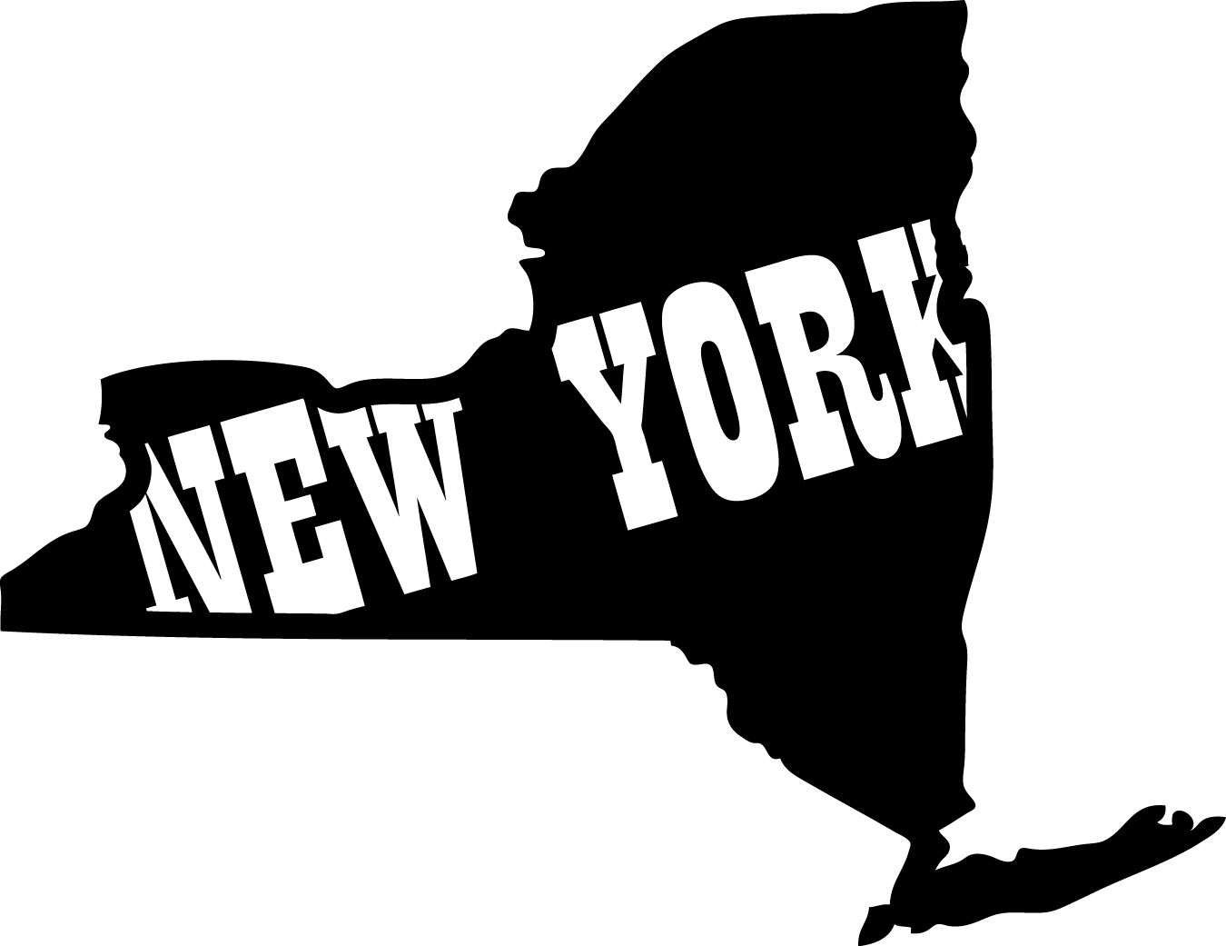 Free New York State Outline Png, Download Free Clip Art.