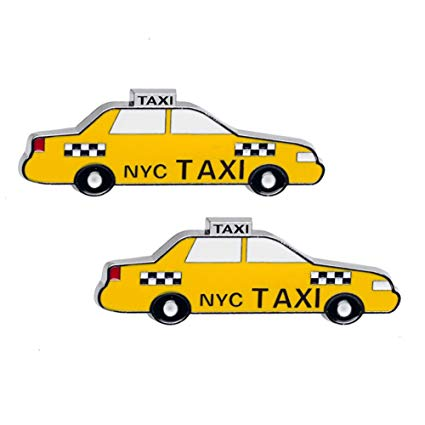 Amazon.com: 2x New York Yellow Cab Taxi NY Souvenir Metal.