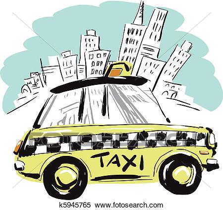NewYork Taxi Clipart.