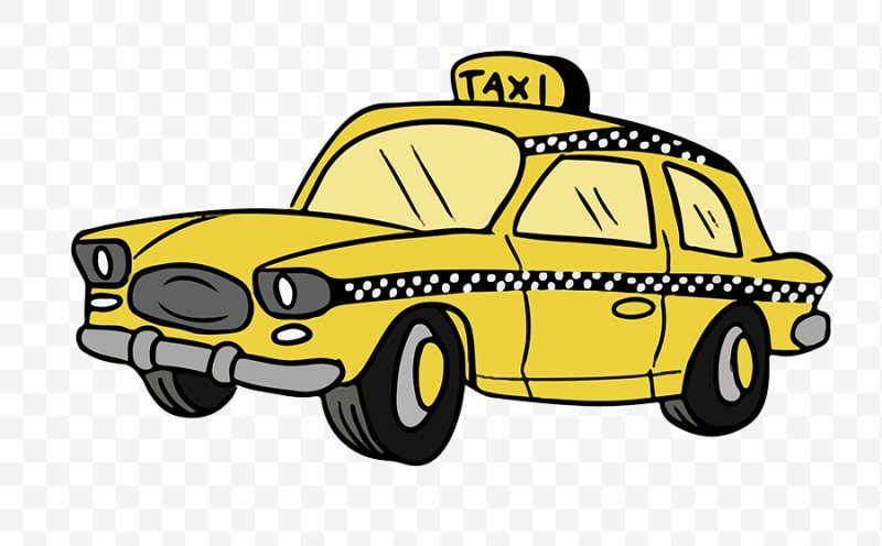Taxicabs Of New York City Yellow Cab Clip Art, PNG.