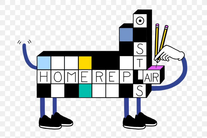The New York Times Crossword Puzzle Clip Art, PNG.