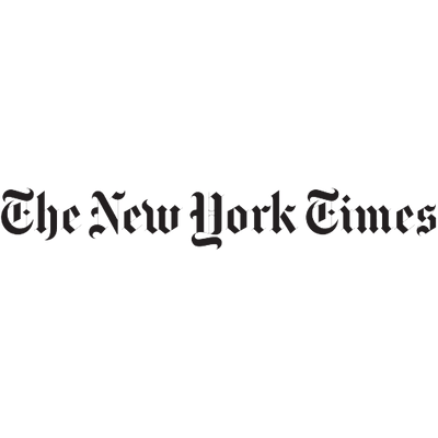 The New York Times Logo transparent PNG.