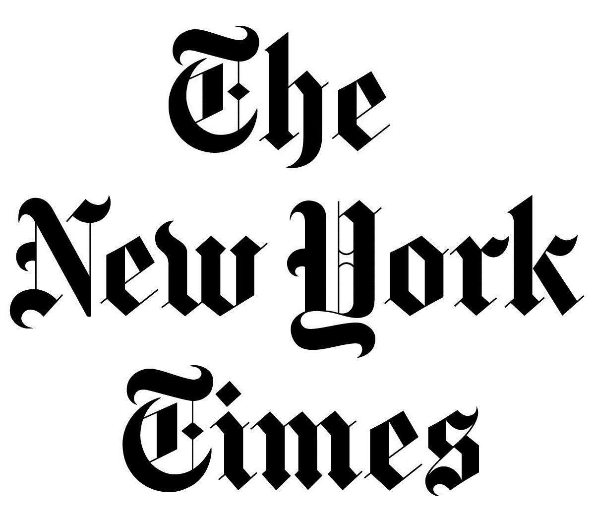 New york times Logos.