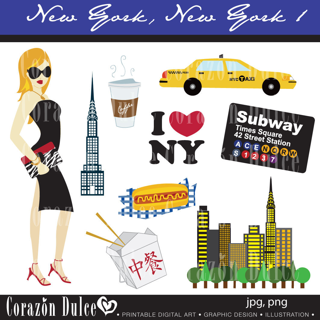 New Yorker Clipart.