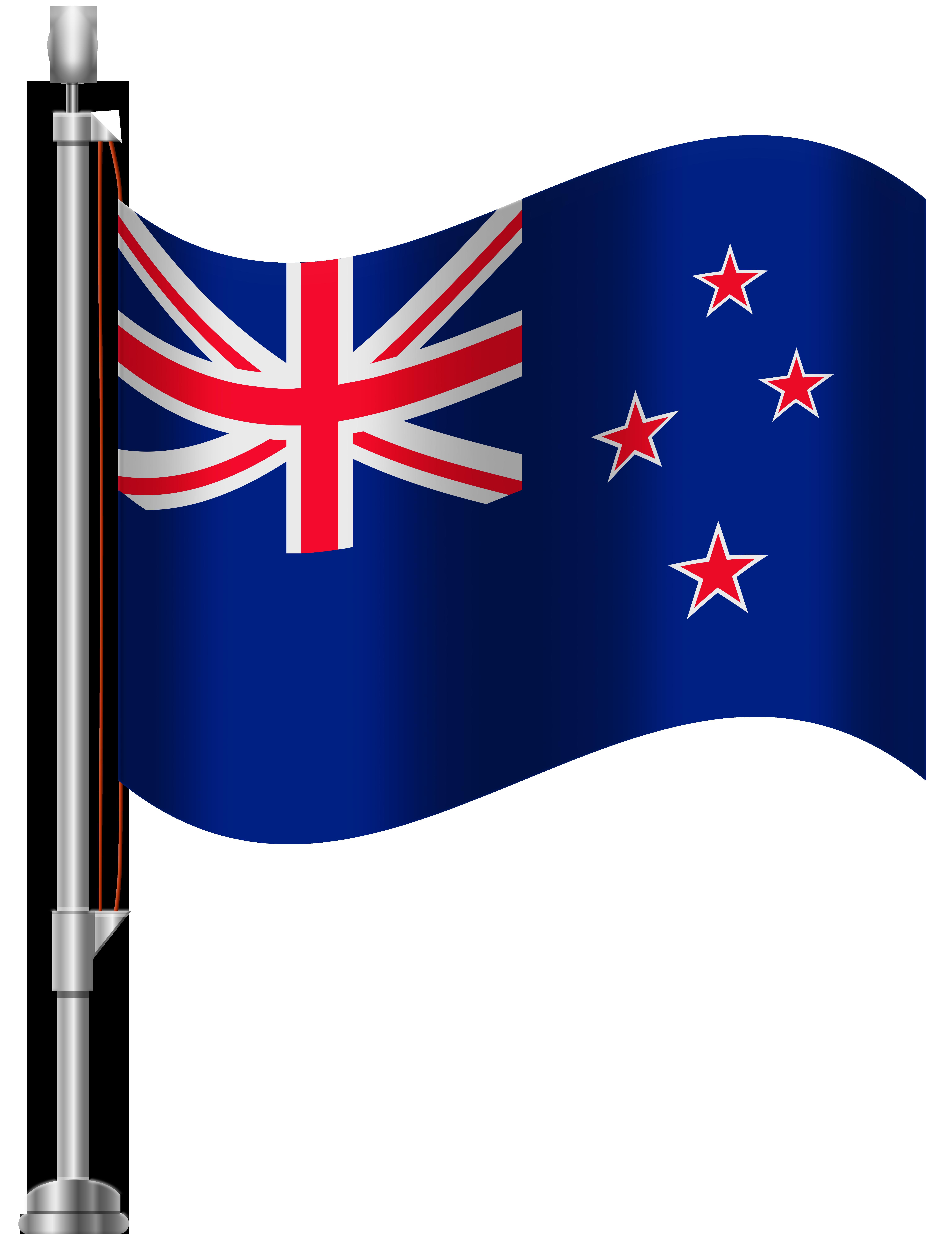 New Zealand Flag PNG Clip Art.