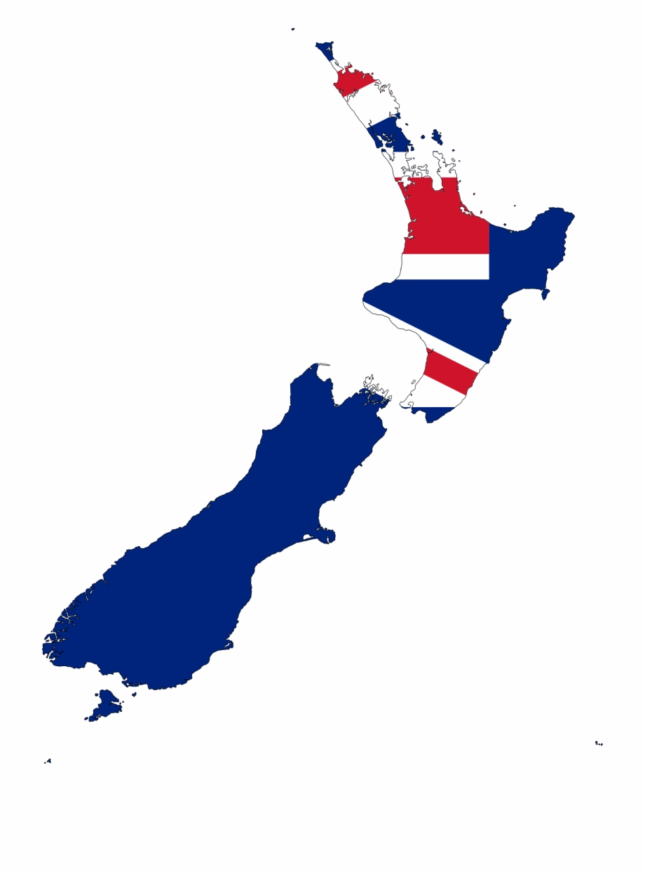 Click On The New Zealand Flag Map Pluspng.