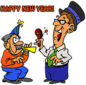 Free New Year Clipart.