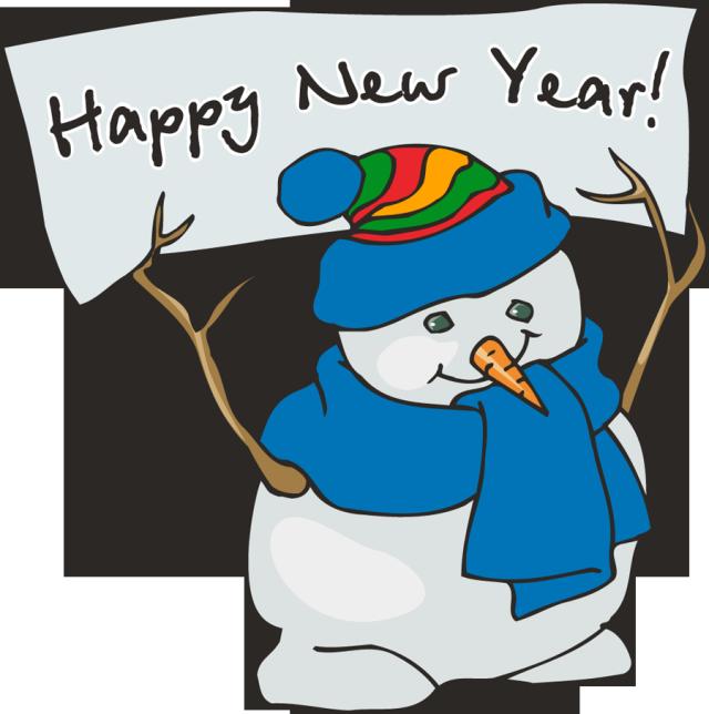 Happy new year money clipart.