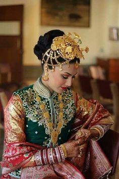 Nepali bride.