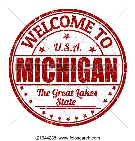 Clipart of Welcome to Newark stamp k22549273.