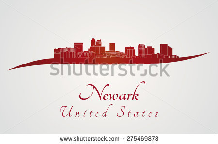 Newark Skyline Stock Vectors & Vector Clip Art.