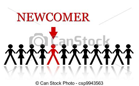 Newcomers clipart.